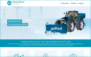 Info-Website Winterdienst in Essen