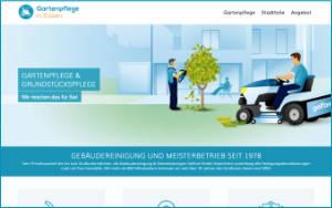 Info-Website Gartenpflege in Essen